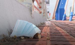 Littered masks a health risk amidst novel coronavirus fears
