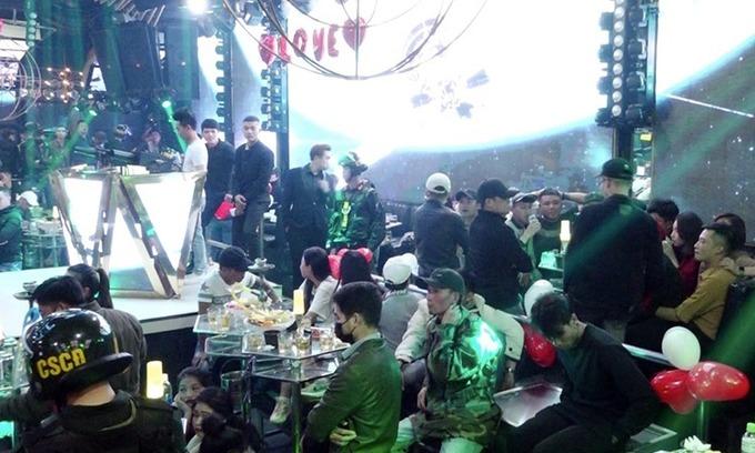 Raid on Da Lat's largest bar nets 92 drug abusers