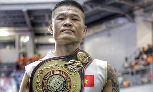 Vietnamese boxer defends WBA Asia East title