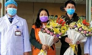 Two more patients discharged in Vietnam's coronavirus hub