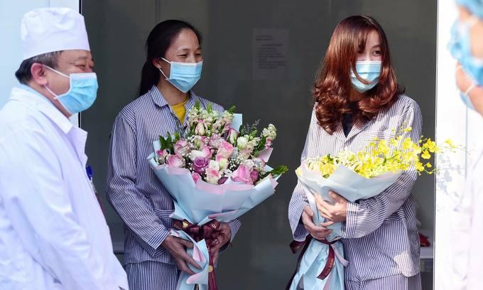 Vietnam hospital discharges two more Vinh Phuc coronavirus patients