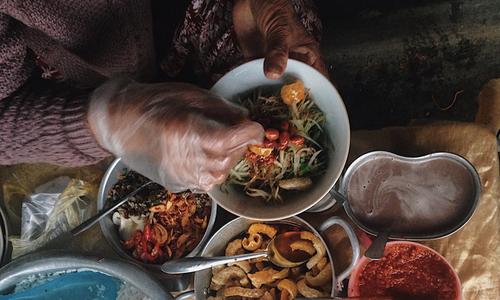 Com Hen soul of Hue street cuisine
