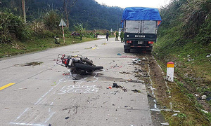 German couple killed in Vietnam mountain pass accident