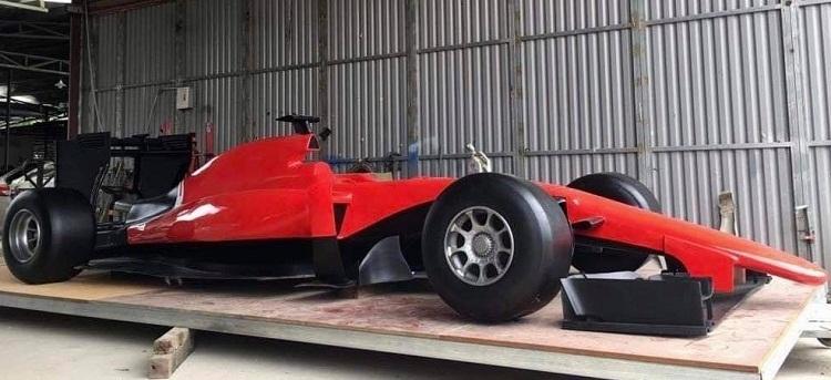 Модели автомобилей Формулы 1 будут представлены на улицах Ханоя