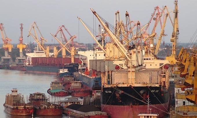 Major Vietnamese port to screen South Korean ships