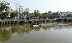 $1.5 million spent to clean major Saigon canal