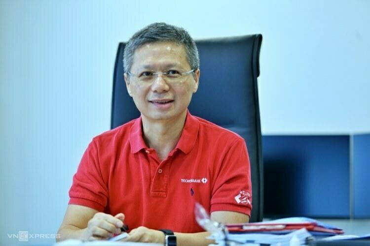 Techcombanks CEO, Nguyen LeQuoc Anh. Photo: Anh Tu