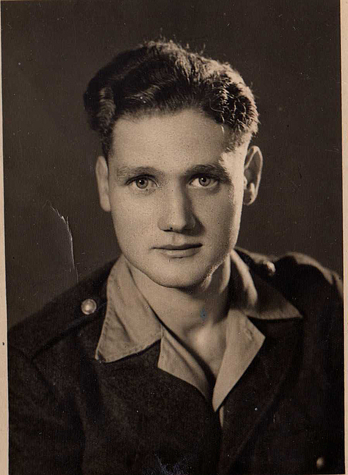 A picture of Wolfgang Redlich sent to his mother when he was serving the French military in Vietnam, age unknown. He alsohad a Vietnamese name, Nguyen Van Duc which means handsome man from Germany. Photo courtesy of Friedhelm Redlich.
