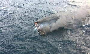 Vietnamese fishermen missing following South Korea blaze
