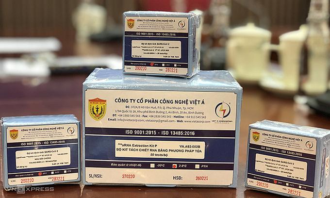 Vietnam able to make 10,000 coronavirus test kits per day