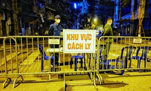 Hanoi chairman calls for calm after latest Covid-19 case