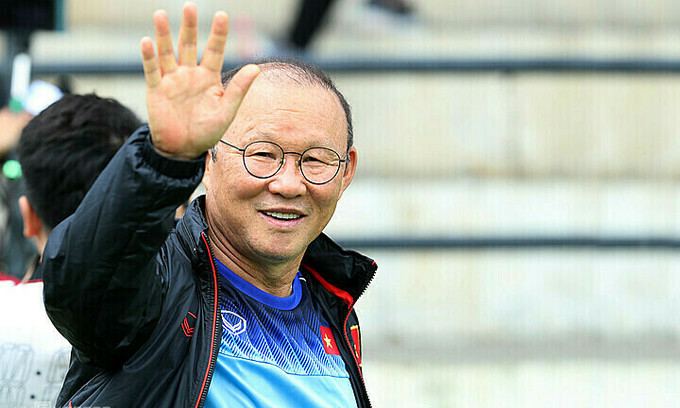 Coach Park Hang-seo back on the job after coronavirus isolation