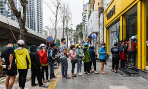 Life convulsed as coronavirus grips Hanoi