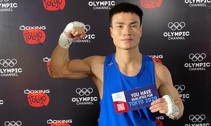 Vietnamese boxer wins ticket to Olympics