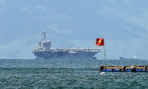 Aircraft carrier visit elevates Vietnam-US ties: experts