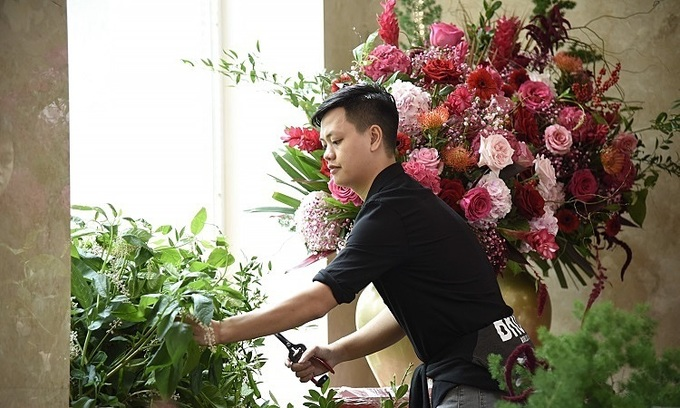Get to know the Forbes Vietnam 30 Under 30 florist