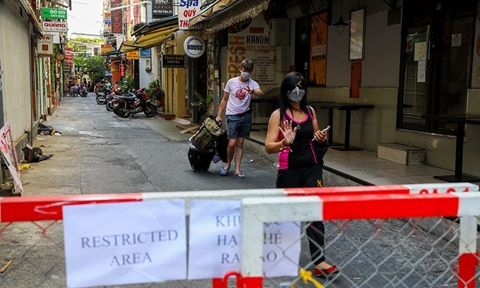 Latvian tourist in HCMC Vietnam's 54th coronavirus patient