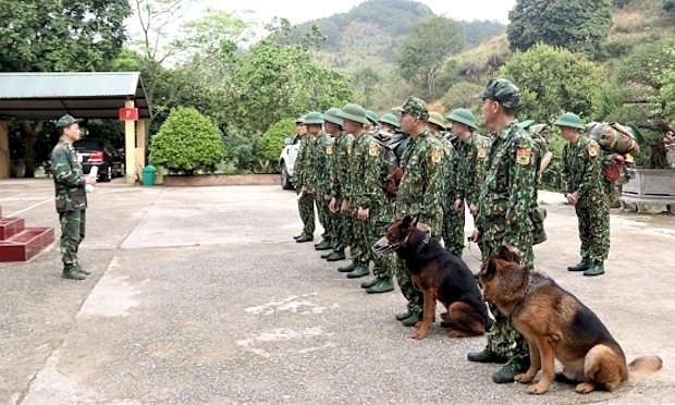 Vietnam uses trained dogs to prevent illegal entry from China amid Covid-19 fight