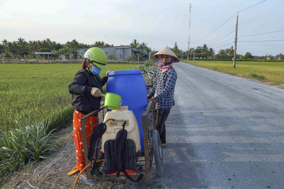 Mekong Delta hit by worst drought ever