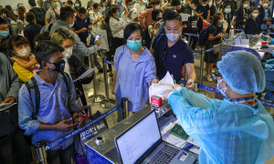 Vietnamese flock home in droves to flee pandemic