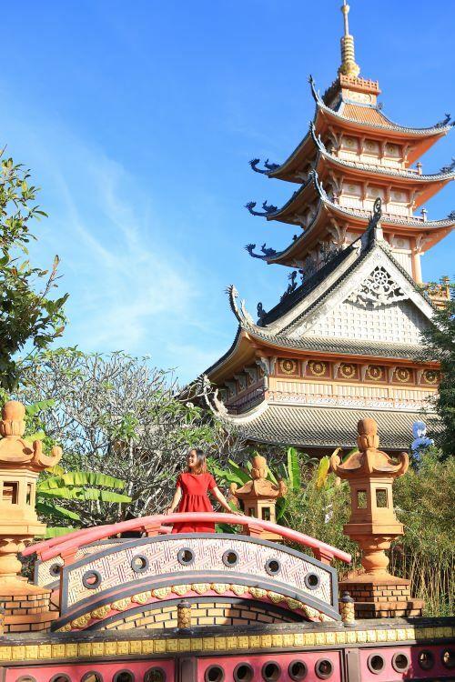 Ancient pagoda Buu Minh.