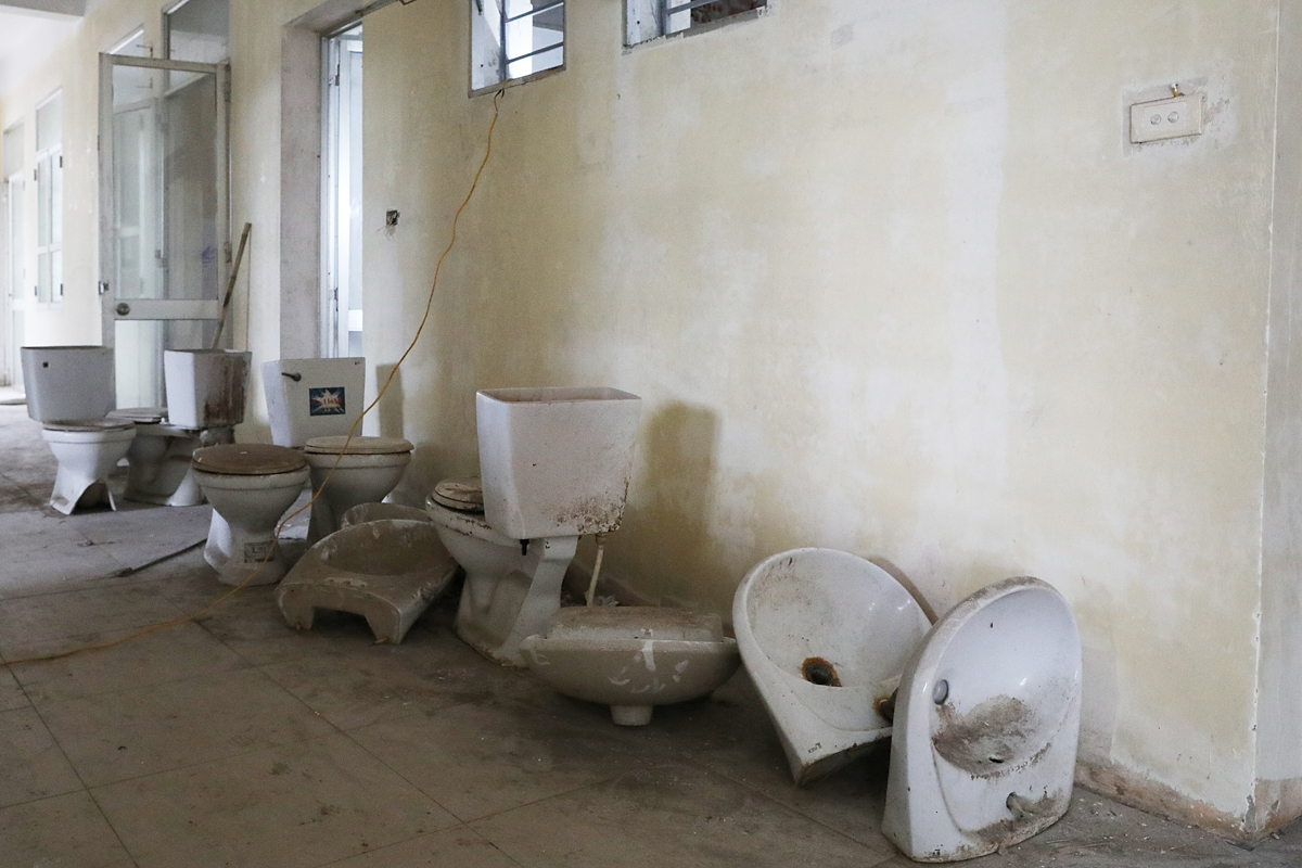 The bathrooms, restrooms will also get a brand new makeover.