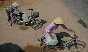 Mekong Delta struggles to find freshwater as drought, salt intrusion continue