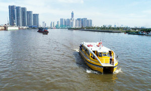 Saigon river bus trips cut by half