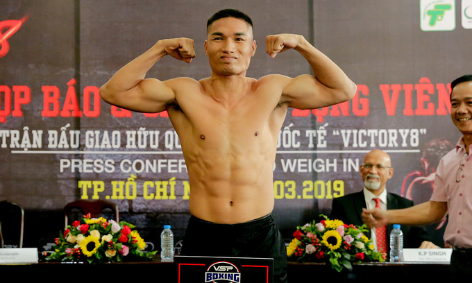 Vietnamese boxers set for Victory 8 event in Philippines