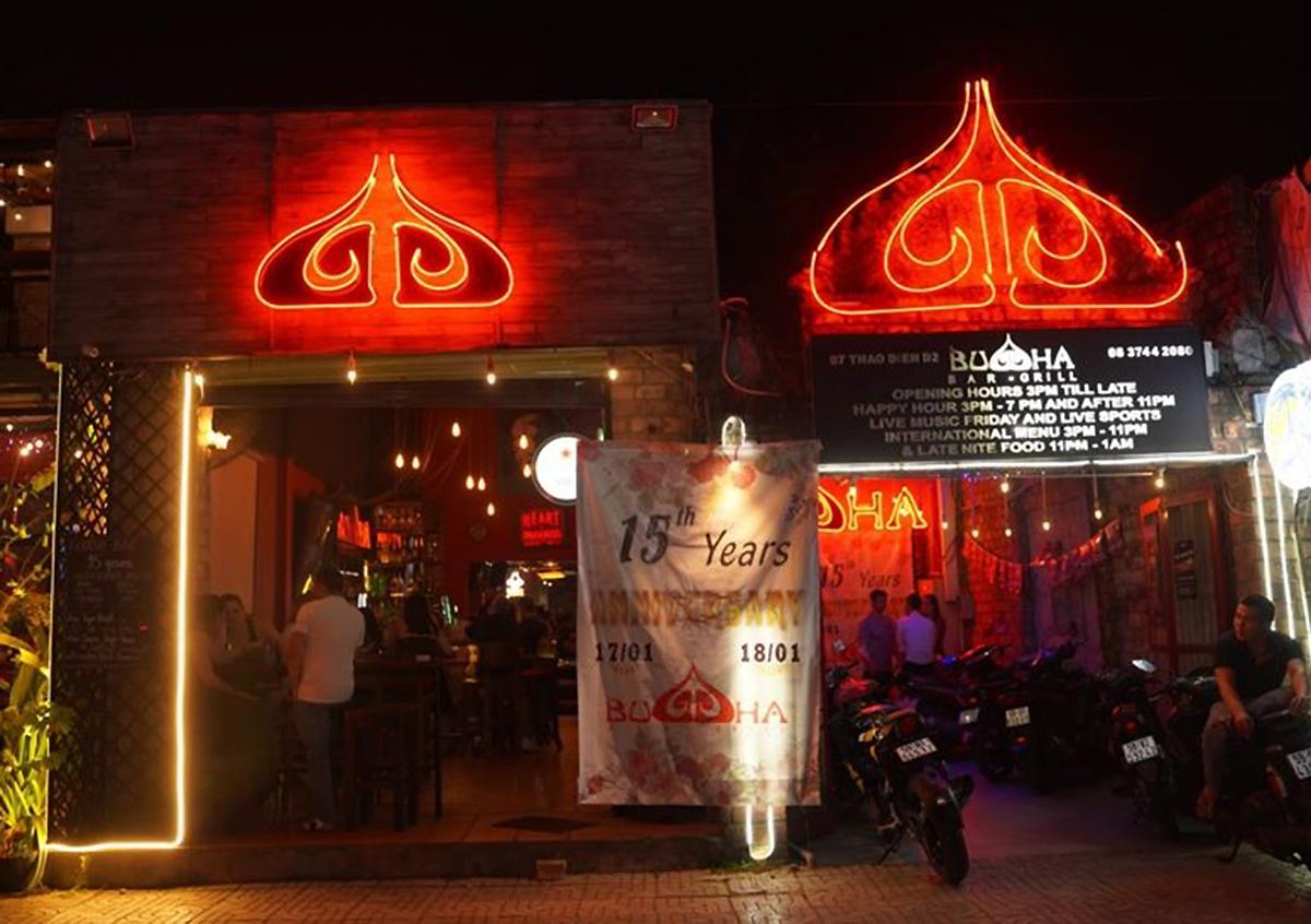 Buddha Bar & Grill in Thao Dien Ward, District 2, HCMC. Photo courtesy of Buddha Bar.