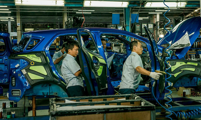 Ford suspends Vietnam production