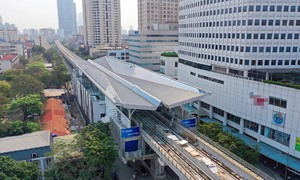 Hanoi second metro to have test run this year