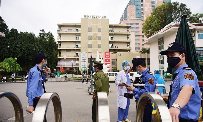 Covid-19 tally: nine new cases, eight linked to Hanoi hospital