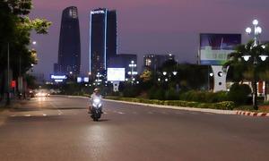 Pandemic empties Da Nang's streets