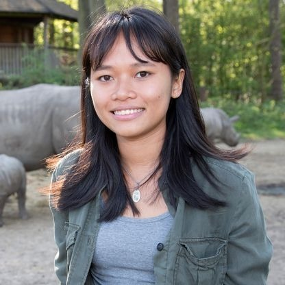 Nguyen Thi Thu Trang is a wildlife conservationist and CEO of Vietnam-based non-profit organization WildAct. Photo courtesy of Nguyen Thi Thu Trang.