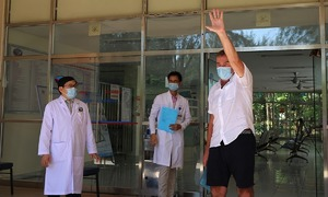 British Covid-19 patient lauds Vietnam hospital for 'friendly' treatment