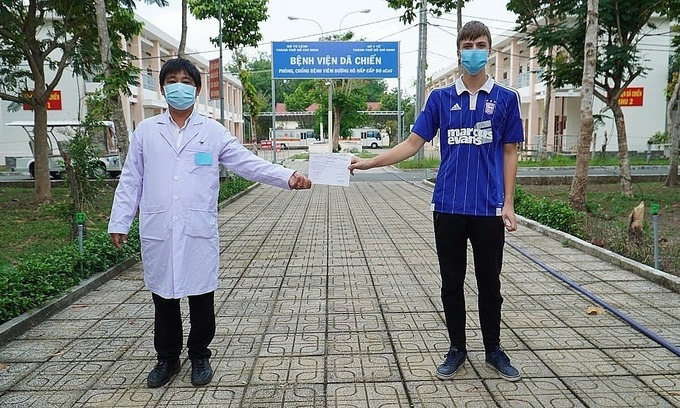 Two Covid-19 patients discharged in Vietnam