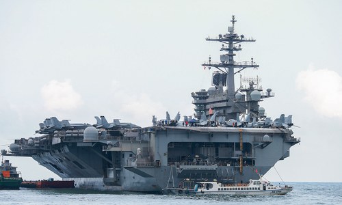 Vietnam not source of Covid-19 outbreak on US aircraft carrier: officials