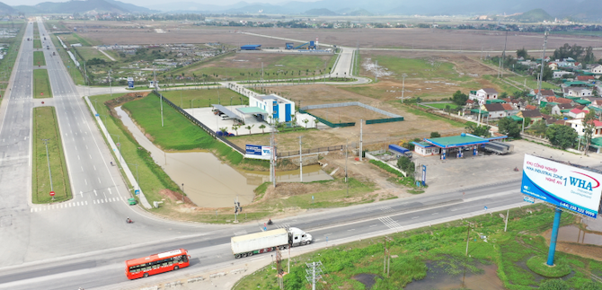 WHA Industrial Zone 1 in Nghi Loc District, Nghe An Province.
