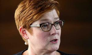 Australian foreign minister condemns China's disruptive actions