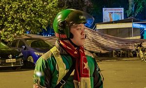 Grab rider turns first aid hero
