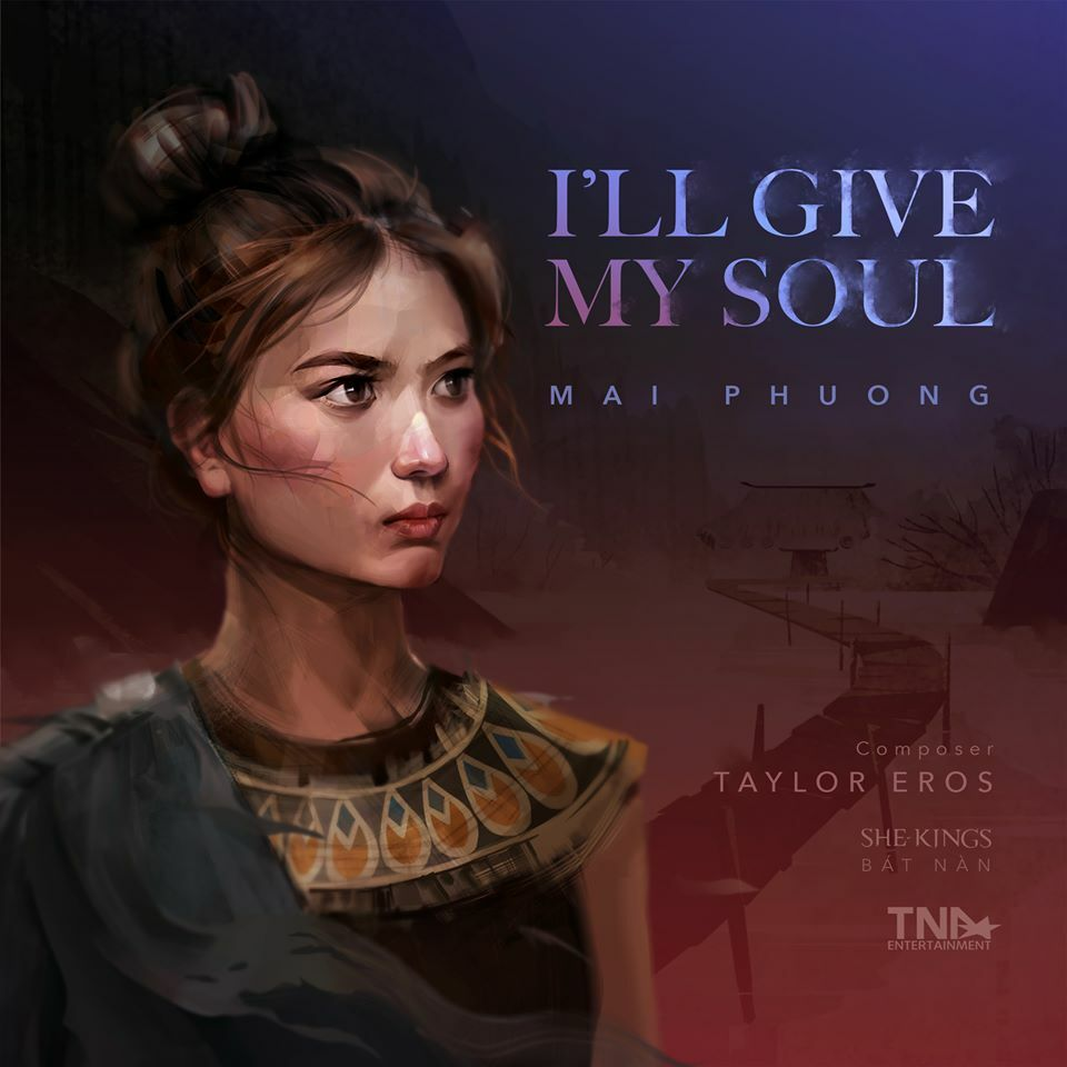 Cover of Ill give my soul single. Photo courtesy of She - Kings.