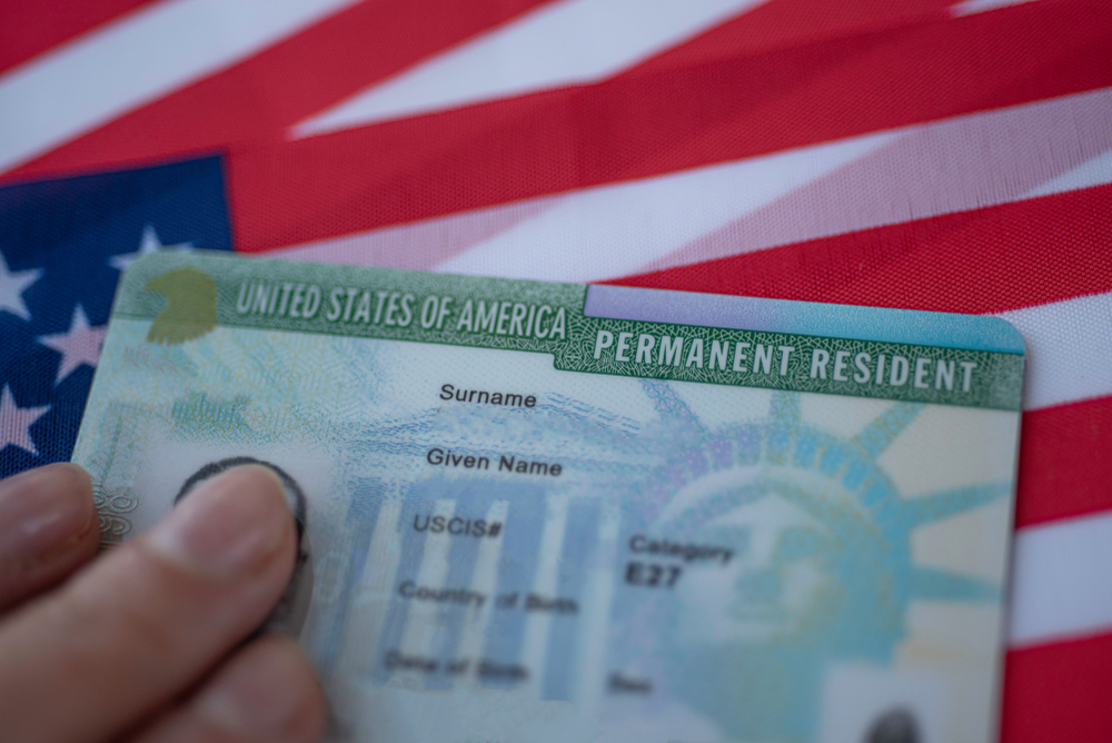 For 60 days, Trumpsordersuspends access to green cards for family members of permanent residents who are outside of the U.S.,,parents and siblings of US citizens abroad.Photo by Shutterstock/Evgenia Parajanian