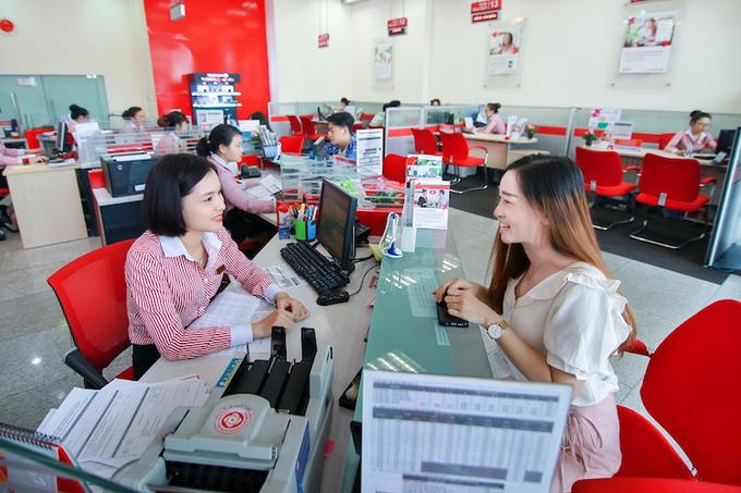 A Techcombanks transaction office.
