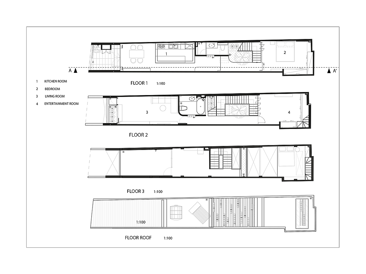 Blueprint of the house.