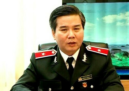 Nguyen Ngoc Tuan, chief inspector of the Ministry of Construction. Photo courtesy of the ministrys newspaper Xay Dung.