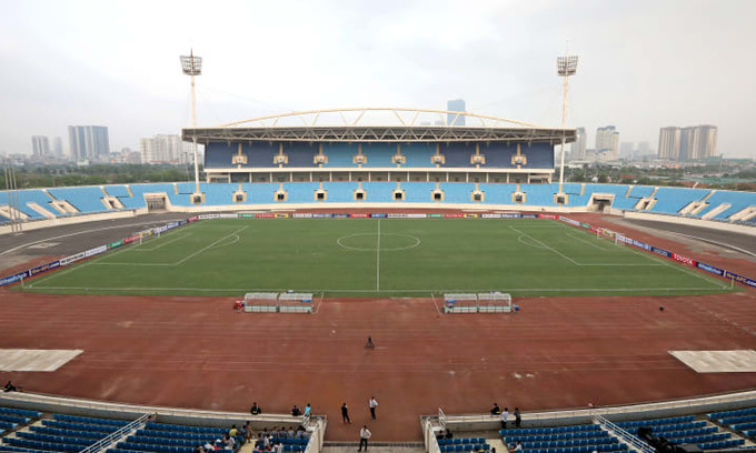 Vietnam stadium listed among best in Southeast Asia