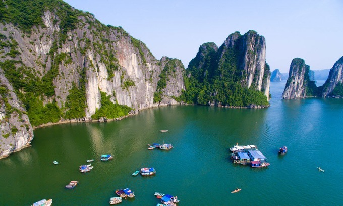 Ha Long Bay in northern Vietnam. Photo by Shutterstock/Andy Tran.