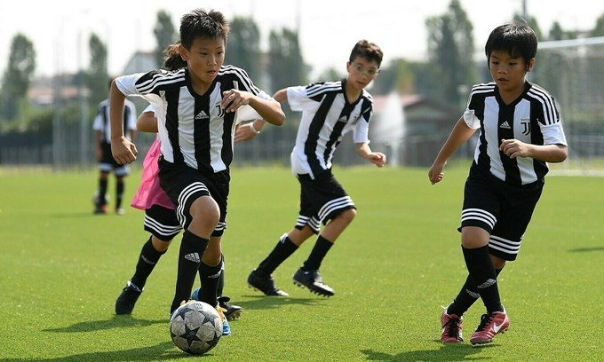 Juventus academy in Vietnam turns out 1st batch of players