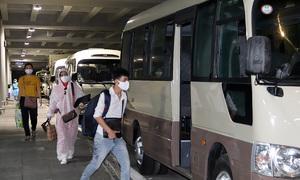 297 Vietnamese returnees from UAE quarantined in Mekong Delta
